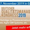 Innovation und Qualität als Top-Erfolgsfaktoren im globalen Wettbewerb: Der Deutsche Qualitätsmanagement-Kongress 2019