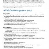 APQP Qualitätsingenieur (w/m)
